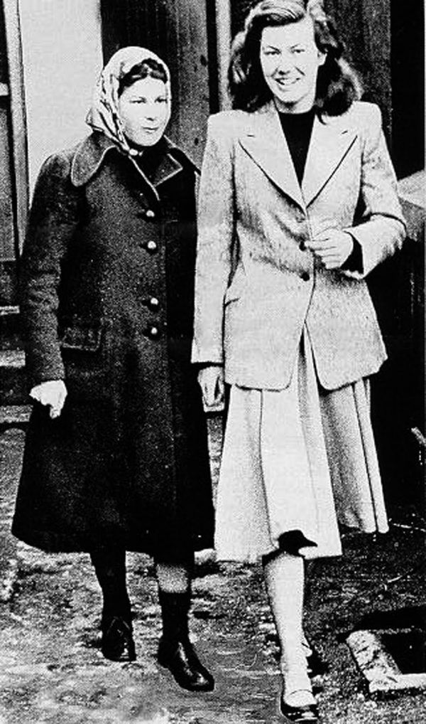 Anne Perry y pauline Parker