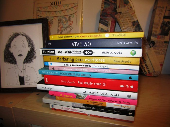 Neus Arqués libros