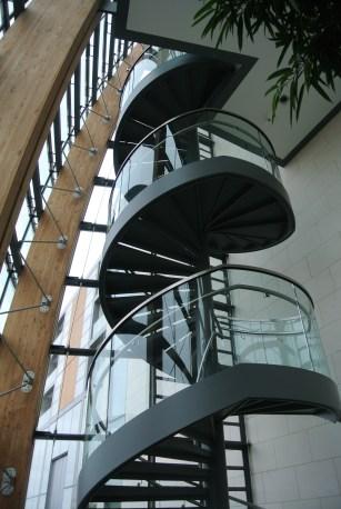 Gibson Hotel, Dublin. Staircase