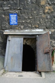 St Michan's Church, Dublin. Vault entrance
