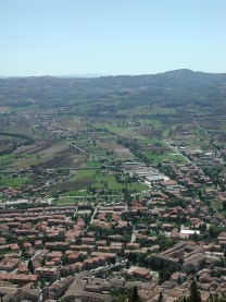 Gubbio from above