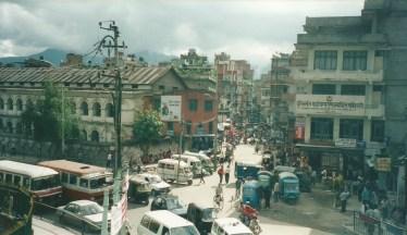 Kathmandu street scene