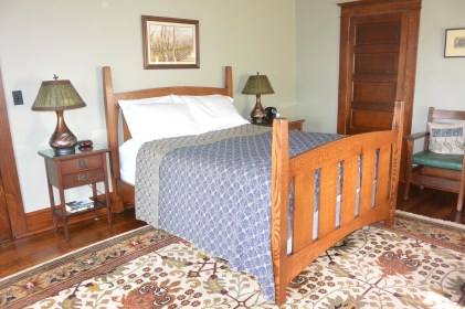 Our room at Laurel Lodge