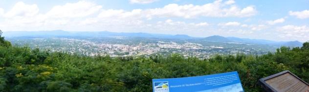 Roanoke from Mill Mountain