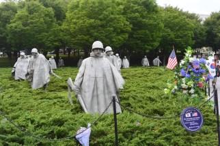 Korean War Memorial, 2014