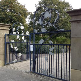 Gorbals New Park gates
