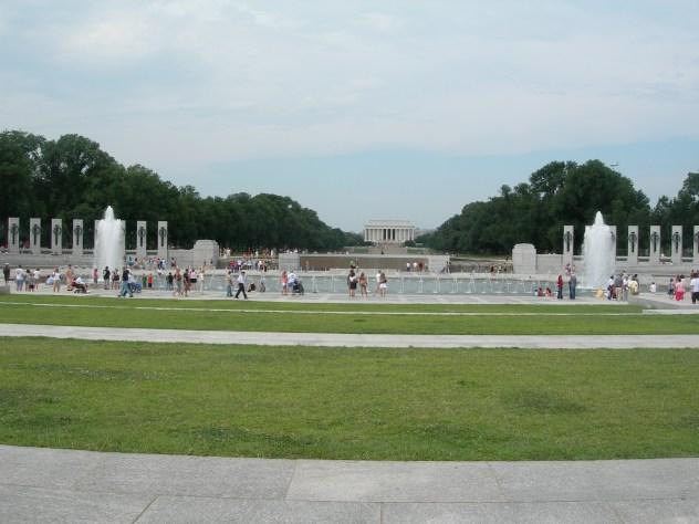 World War 2 Memorial, 2008
