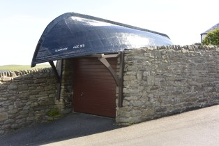Garage roof at The Knowe