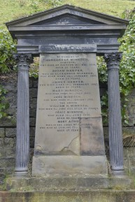 William Minnoch, Glasgow Necropolis