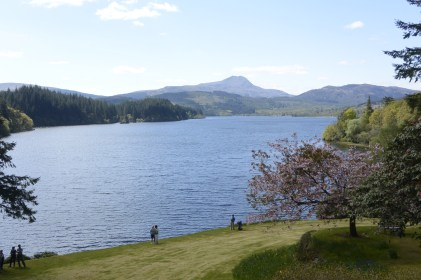 Loch Ard and Ben Lomond