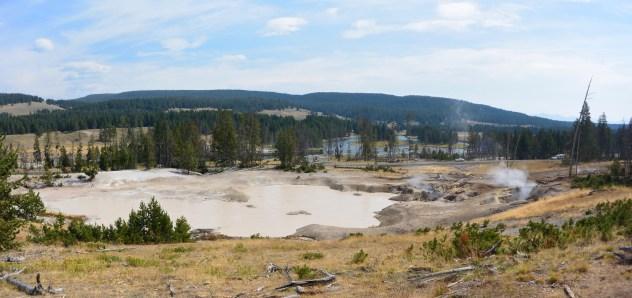Mud Volcano area