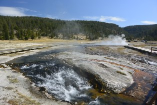 Firehole Lake
