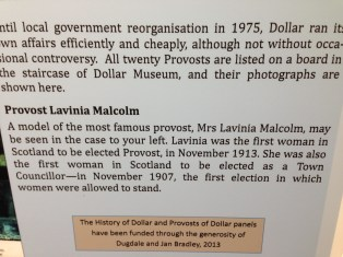 Lavinia Malcolm panel