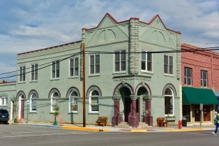 Former bank building