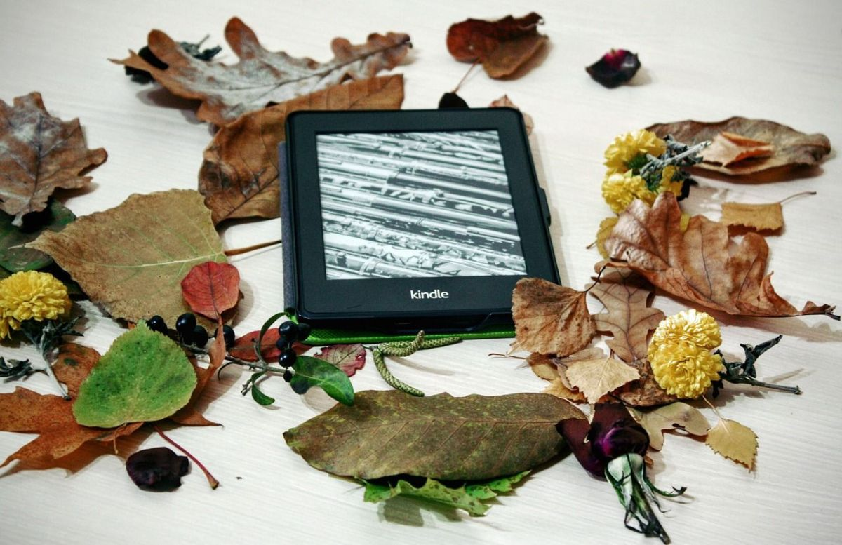 Foto bookstagram libro Kindle