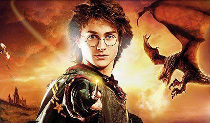 Harry Potter contra el dragón en El cáliz de fuego