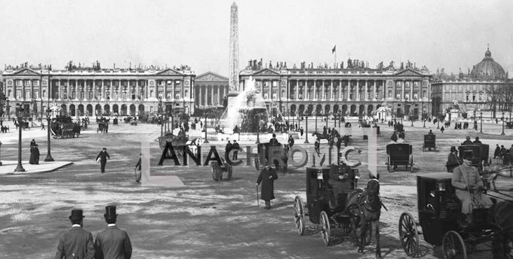 Paris – 1896 – Concorde square