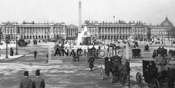 Paris place de la Concorde 1890