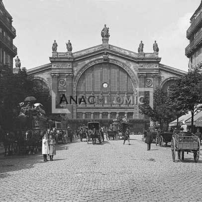 Paris Gare du Nord 1900