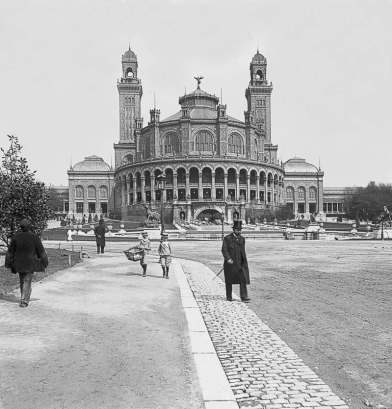 L'ancien Palais du trocadéro vers 1897