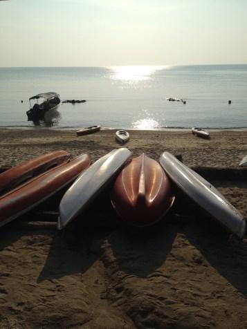 kajaki - najlepsza forma transportu dookoła wyspy