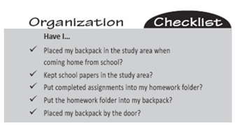 Breaking Your Child's Bad Homework Habits:  Helping Your Disorganized Child