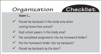 Breaking Your Child's Bad Homework Habits:  Helping Your Disorganized Child
