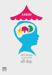 adhd a circus in your head all day