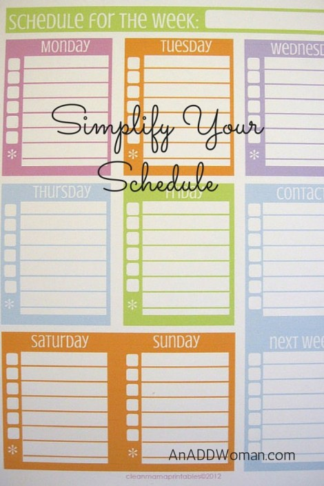 The background of this image is a free printable from Cleanmama.net.