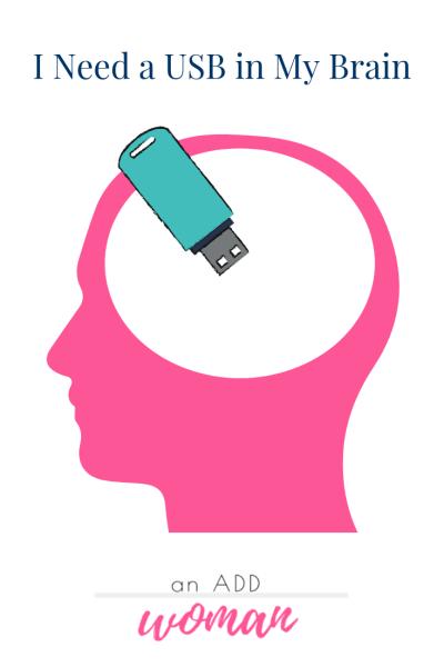 USBbraintoomanythoughtsaddwoman