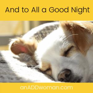 night sleep an add woman