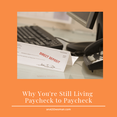 an add woman paycheck to paycheck