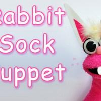 Rabbit Sock Puppet