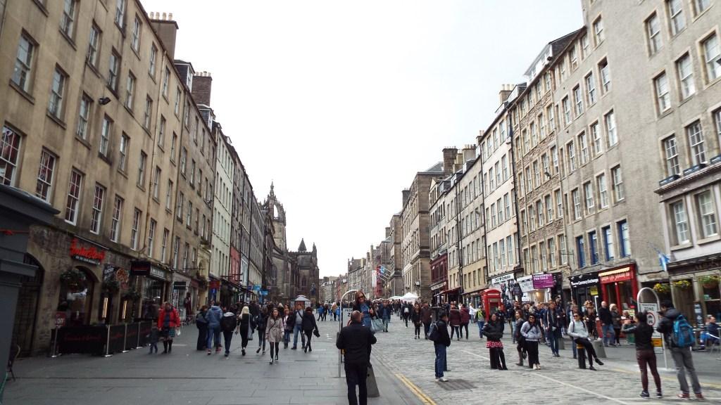 The Royal Mile... Times Square of Edinburgh