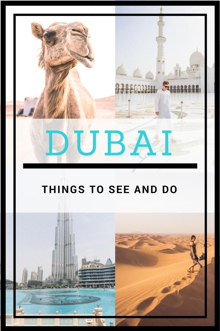 DUBAI-MUST SEES