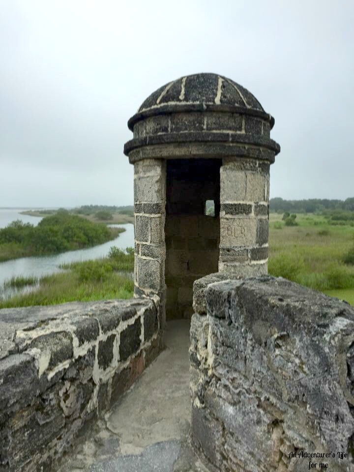 Sentry Box at Fort Matanzas