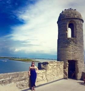 Castillo de San Marcos National Monument in St. Augustine