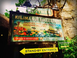 Kilimanjaro Safaris ride at Disney World