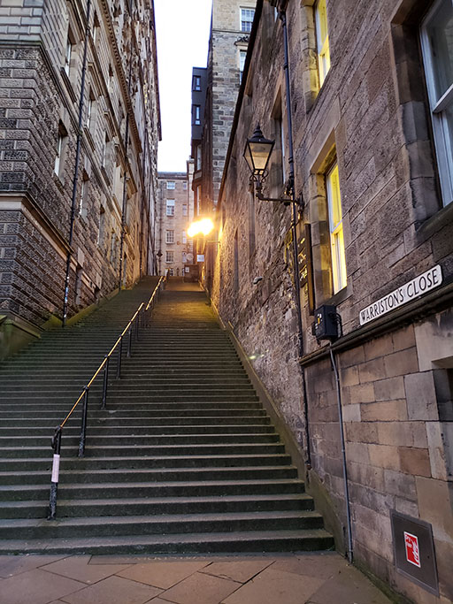 Warriston's Close