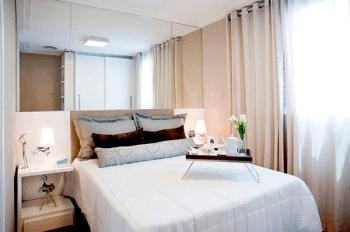 quarto apartamento pequeno