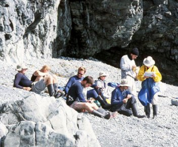 A good day to work on the Alaska tan lines! Glacier Island 2004.