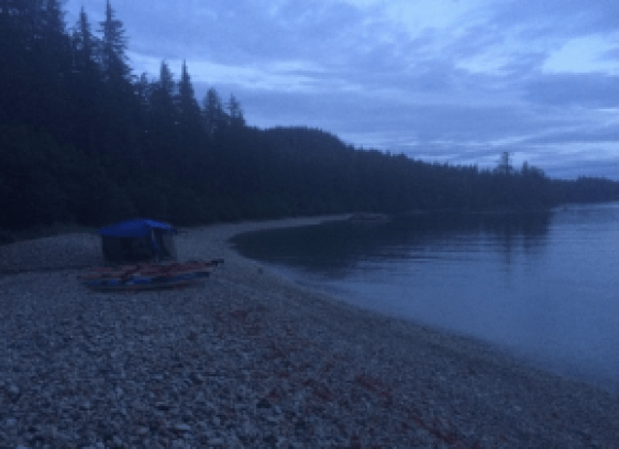 Bull's Head Beach, Glacier Island