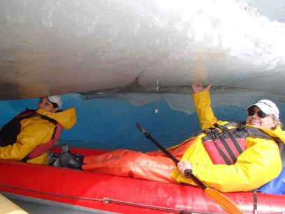 Getting up-close-and-personal with an iceberg!