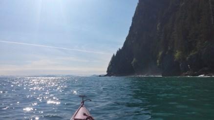 South side of Glacier Island