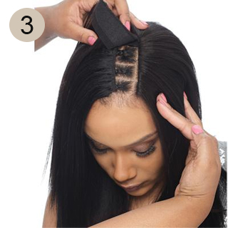 how to do a hair sew in all about me