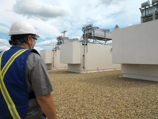 A biogas generator for biogas power generation