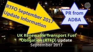 Renewable Transport Fuel Obligation RTFO 2017 thumbnail size image.