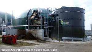 Farmgen AD Plant via Rude Health Geograph org - a typical biogas power plant.