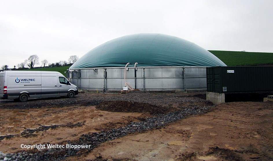 Image illustrates growth of Anaerobic Digestion in Northern Ireland
