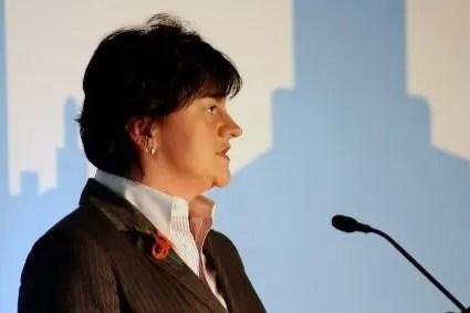 Arlene Foster talks about Anaerobic Digestion Ireland.